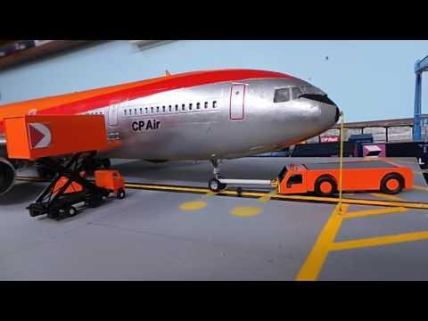 Cp air diorama 1:100 scale