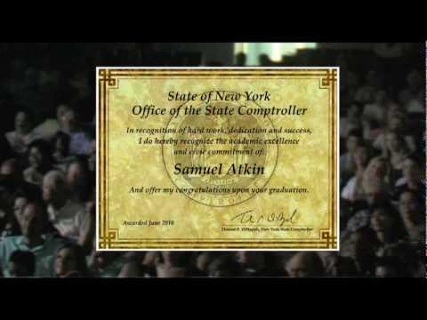 NYS Comptroller Award
