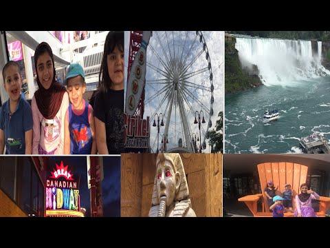 Clifton Hill Niagara Falls  Canada  Let's Travel To Canada