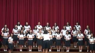 2014년 세화여고 전교합창대회 최우수상 - 1학년 4반