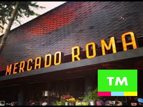 Mexico City's HIPSTER Food Market - MERCADO ROMA