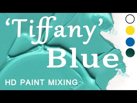 HD Paint Mixing - 'Tiffany Blue'   (Oil)