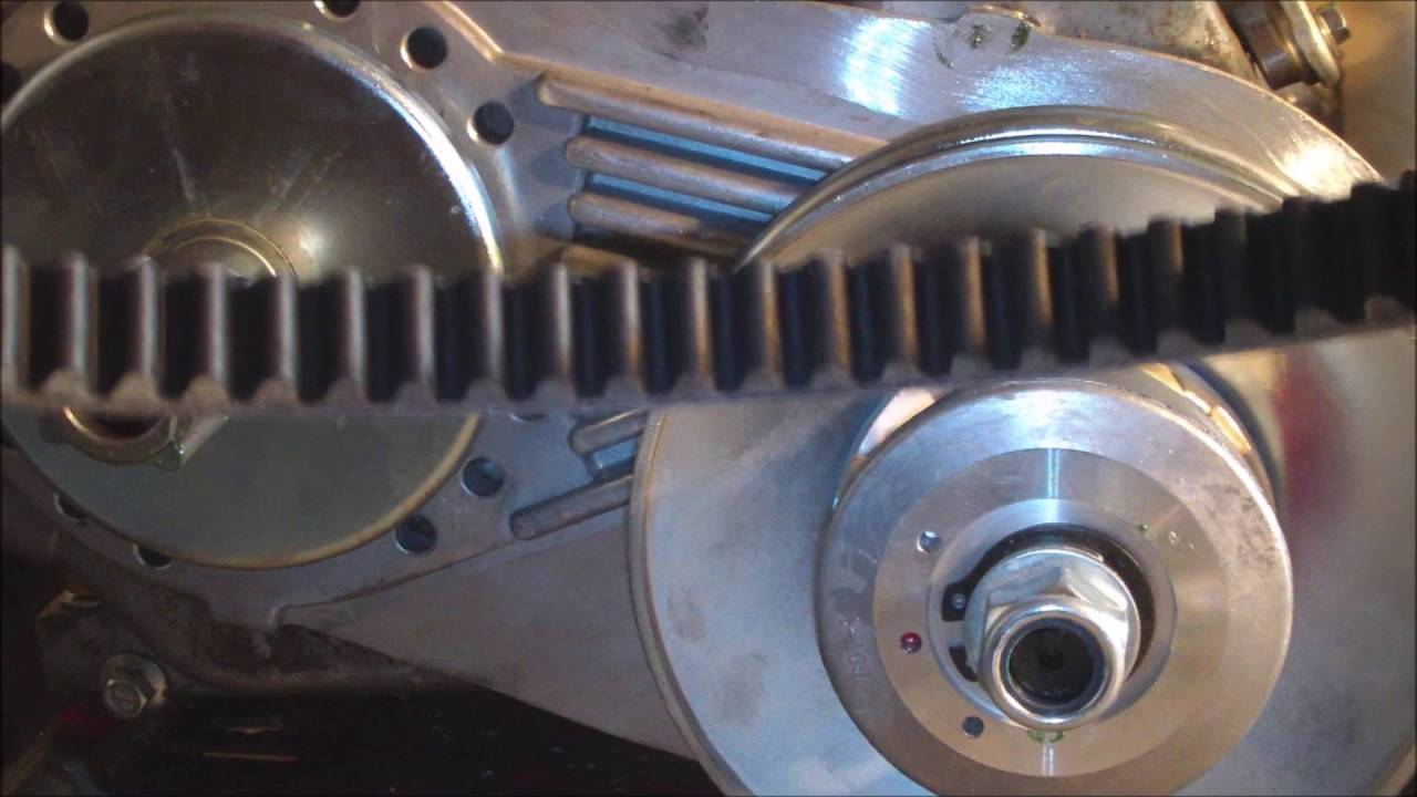 Clutch to Torque Converter Conversion on a Doodle bug Mini-Bike 6.5 ...