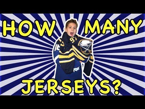 Kids HocKey Challenge - How Many Jerseys Can I Put On?