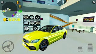 Big Garage and House in Car Simulator 2 #10 - Mercedes Wolf Drive - Android Gameplay