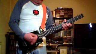 The Clash White Riot Guitar Cover