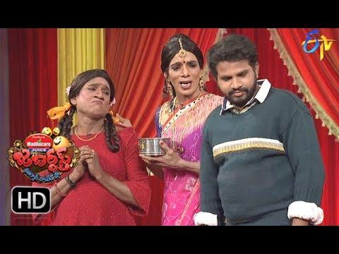 Hyper Aadi, Raising Raju Performance | Jabardasth | 18th January 2018   | ETV  Telugu