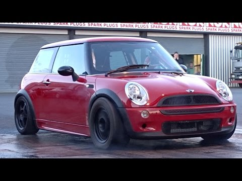 mini cooper s quarter mile run doovi. Black Bedroom Furniture Sets. Home Design Ideas