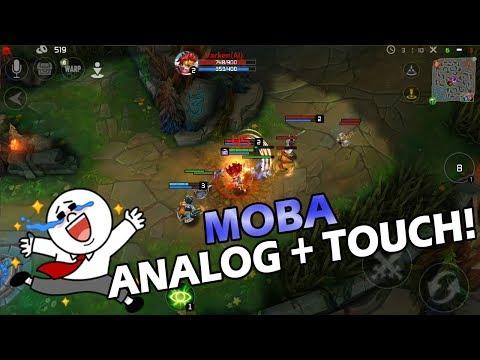 WOW Game Moba Mirip DOTA Bisa Touch dan Analog di Android !