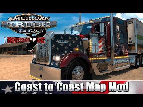 Stream Archive: 3/1 American Truck Simulator - Coast To Coast Map Mod