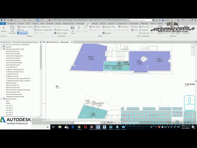 Curso básico de Revit | 06 Información del Project Browser