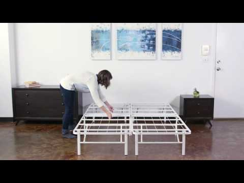 Horizon Stainless Steel Platform Bed
