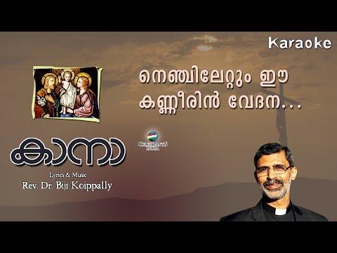 NENJILETTUM EE KANNEERIN VEDHANA Karaoke | Cana | Rev Dr Biji Koippally | Family Prayer