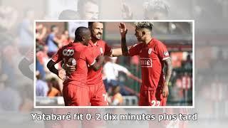 Courtrai - standard (2-1) : a 10, les liégeois se font surprendre dans les arrêts de jeu