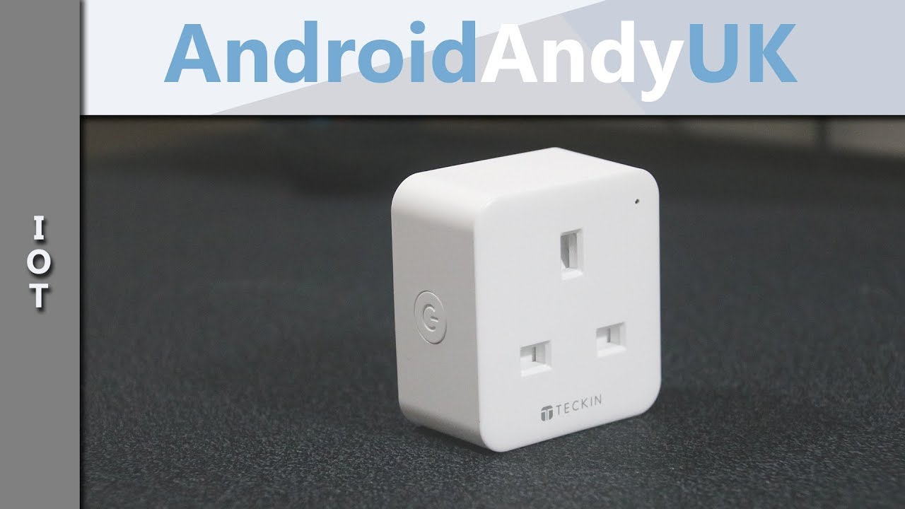 Teckin Smart Life WiFi Smart Plug for use with Google Assistant and Amazon  Alexa