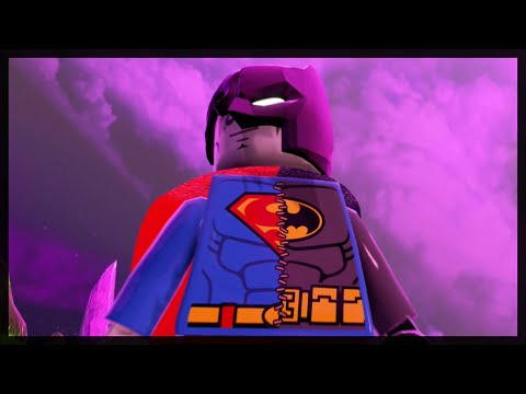 LEGO BATMAN 3 - COMPOSITE SUPERMAN LORE AND GAMEPLAY!
