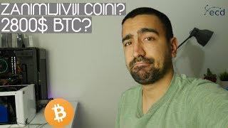 Zanimljivi Coini Trenutno? BTC 2800$? Cryptoportfolio