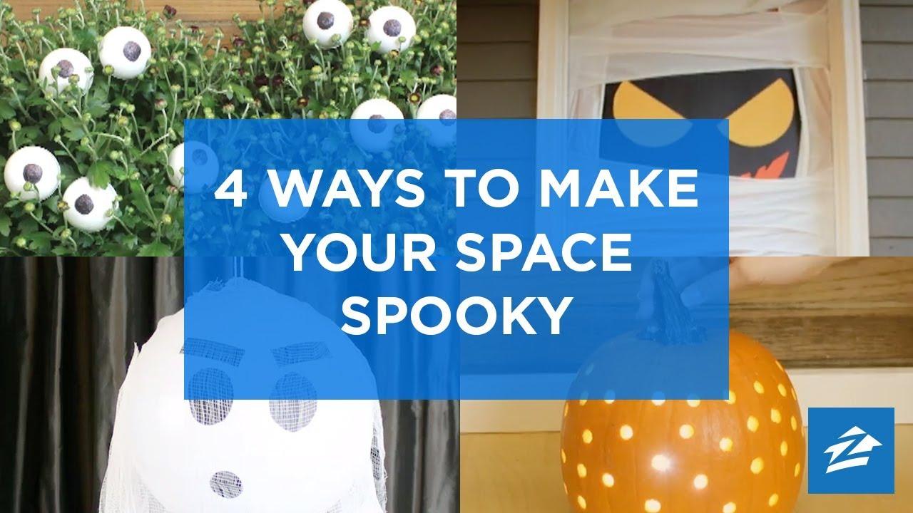 DIY Halloween Décor Hacks Diy Decoration Ideas | Zillow
