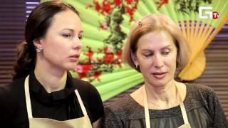 2016/02/14 Look&Cook: Теплый салат и свинина с яблоками!