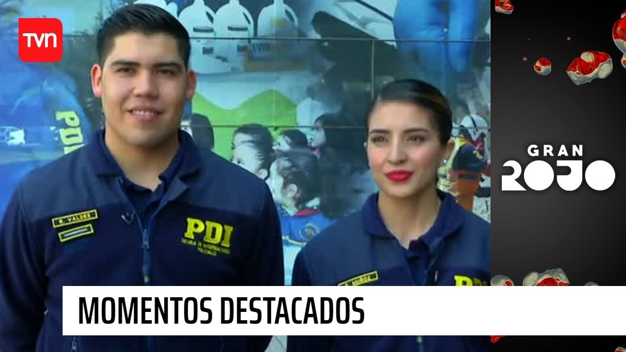 Download Geraldine y Raúl se integraron al estricto régimen de la PDI   Gran Rojo