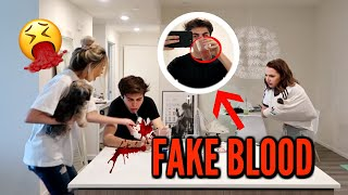 Throwing Up Blood Prank On Bestfriends !!! (EXTREME) thumbnail
