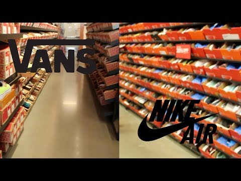 TRIP TO THE NIKE & VANS OUTLET