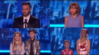 America's Got Talent Results Part 2 - Quarterfinals Week 3 - August