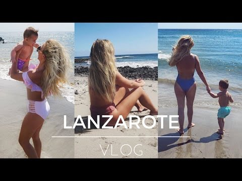 LANZAROTE VLOG | FAMILY HOLIDAY | Lucy Jessica Carter