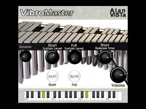 Download Free Vibraphone plug-in: VibroMaster by Alan ViSTa