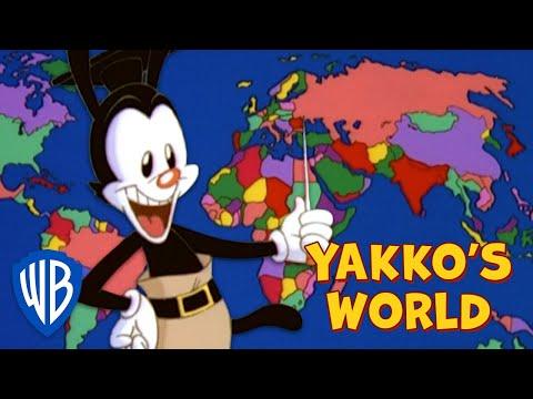 Animaniacs SING-ALONG 🎤   Yakko's World   WB Kids