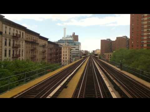 Riding IRT Lo-V 5443 RFW from Times Square-42nd Street to Van Cortlandt Park-242nd Street
