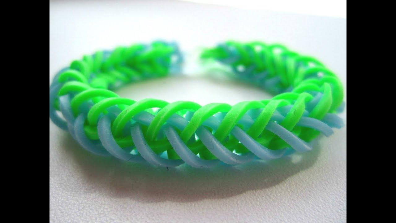 Плетем из резинок браслеты онлайн бесплатно