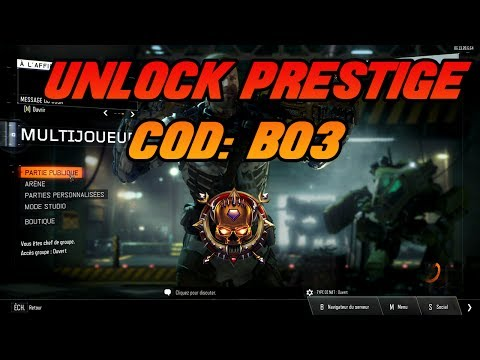 BO3 Multiplayer Hack: Prestige & Experience Editor by Hexious