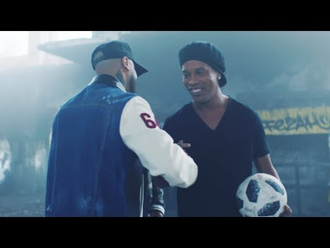 A pocos días del Mundial de Rusia, Nicky Jam y Will Smith presentan Live it Up