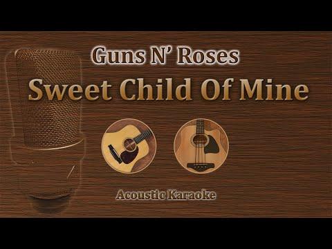 Sweet Child Of Mine - Guns N' Roses (Acoustic Karaoke)