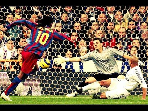 los 10 mejores goles de ronaldinho en su carrera