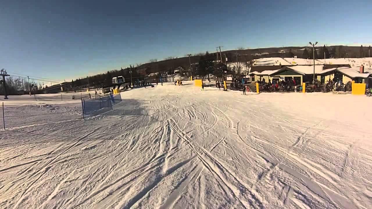 snowboarding @ glen eden (milton, ontario) - youtube