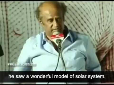 Rajnikanth telling an incident of Edison