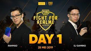 Fight for Realme: PUBGM Santai Dapet Hadiah with EJ & RAHMAD