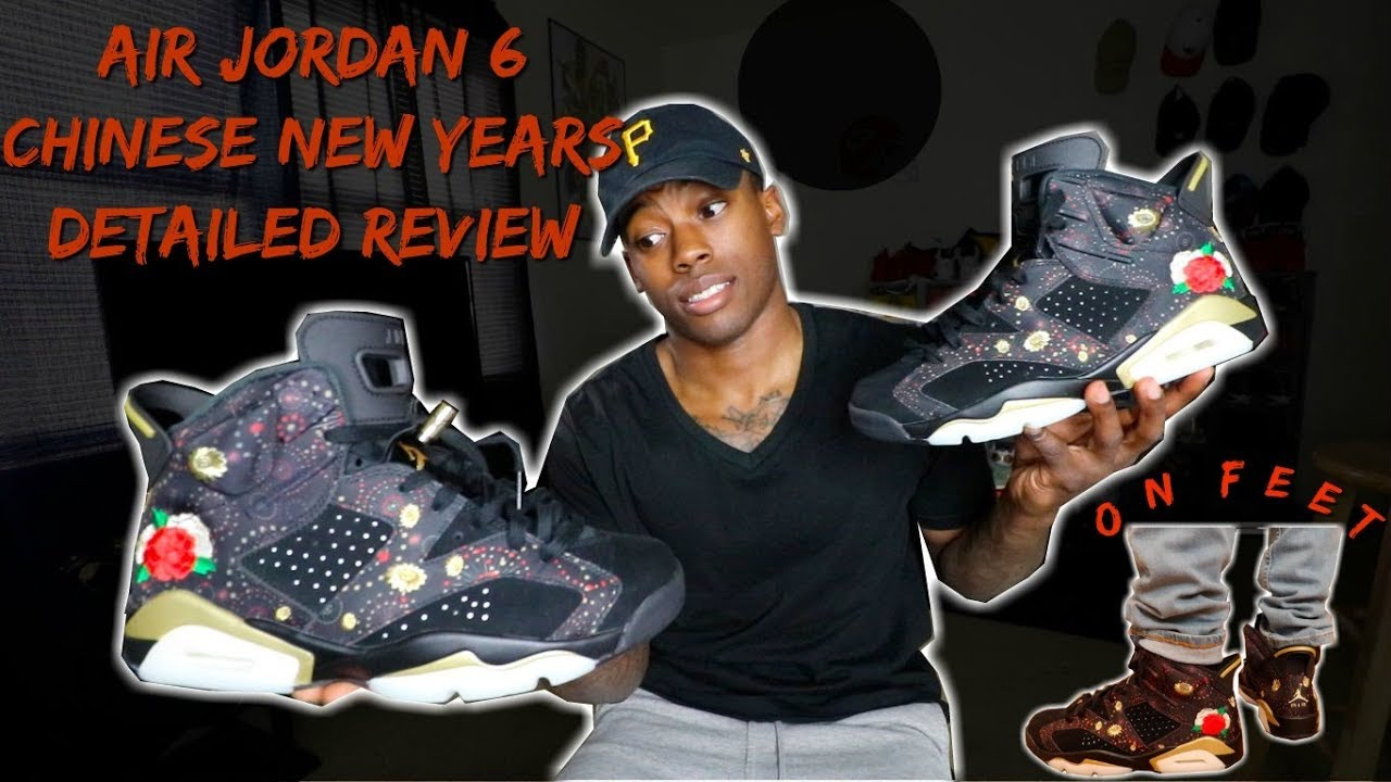 best cheap fb7f4 1f601 EARLY REVIEW OF THE 2018 AIR JORDAN 6 CHINESE NEW YEARS (CNY) w/ ON FEET