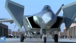 China's J-20 stealth fighters and Su-35 jets in combat training