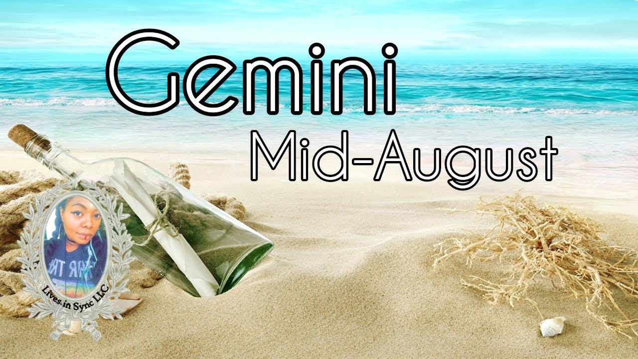 GEMINI: THE HAMSTER WHEEL Mid August 2020