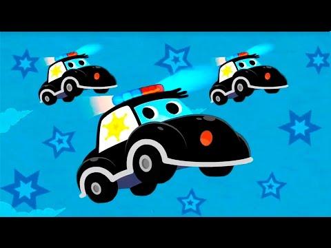 Мультики про машинки. Полицейские машинки и их важная работа. Видео для детей.