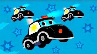 Мультики про машинки -Полицейские машинки и их важная работа