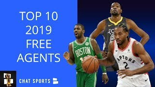 Top 10 NBA Free Agents In 2019 And Where They Could Sign, Including The Lakers, Celtics, Warriors