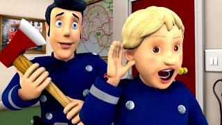 Feuerwehrmann Sam ⭐️ Wir müssen die Tür aufbrechen! 🔥Neue Folgen 🚒 Zeichentrick für Kinder