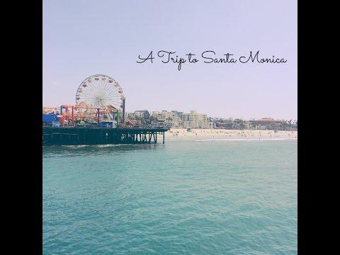Vlog 1 l Visiting Santa Monica