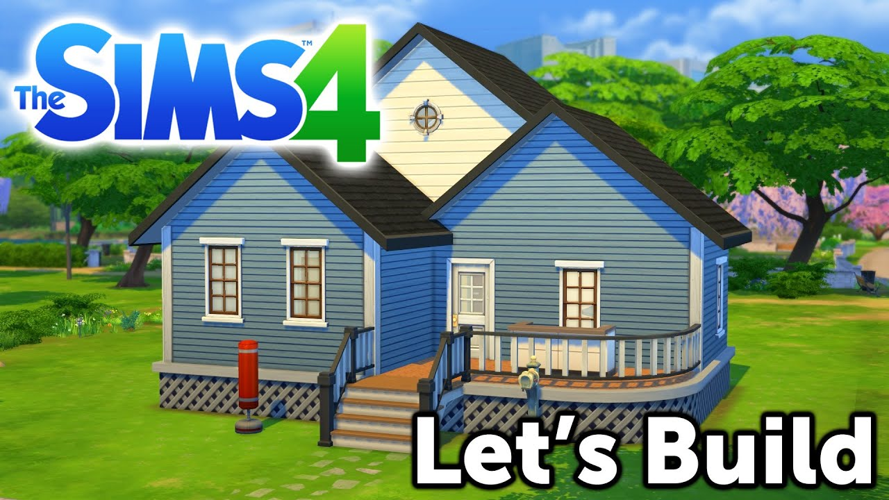 Let 39 s build the sims 4 lp starting home youtube for Where to start when building a house