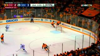 Hockey IQ - Mattias Ekholm takes advantage of the Delayed Offside