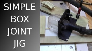⚙ How To Make A Simple Box Joint Jig For Small Parts